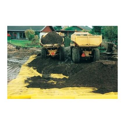 Förorenad och sanerad jord skiljs åt av EXPO-NET Miljönät