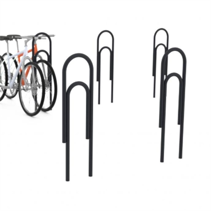 Klips cykelpollare
