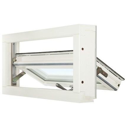 Balans Topturn fönster, öppet, inifrån