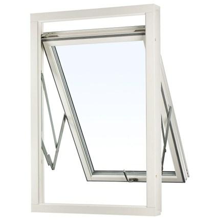 Balans vridfönster, öppet, inifrån