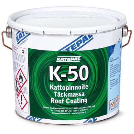 Katepal Täckmassa K-50, 3 liter