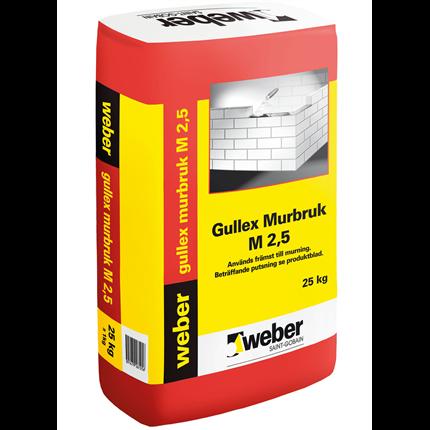 weber gullex murbruk M2,5