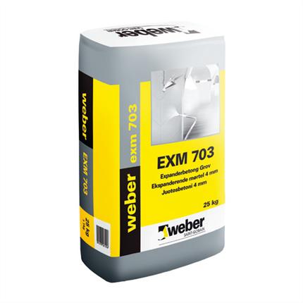 Weber exm 703 expanderbetong grov