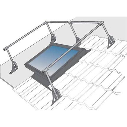Skyddsräcke för tak