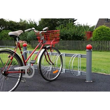 Weland cykelparkering