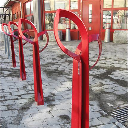Smekab cykelpollare