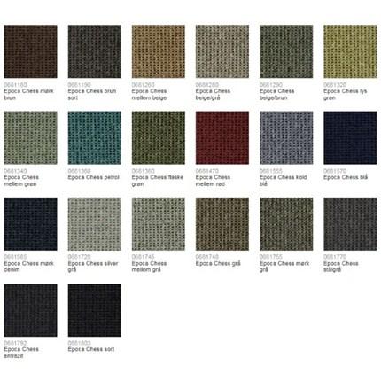 Textilmatta plattor