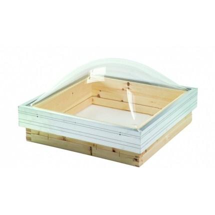 Mataki runda takkupoler med klar akrylplast
