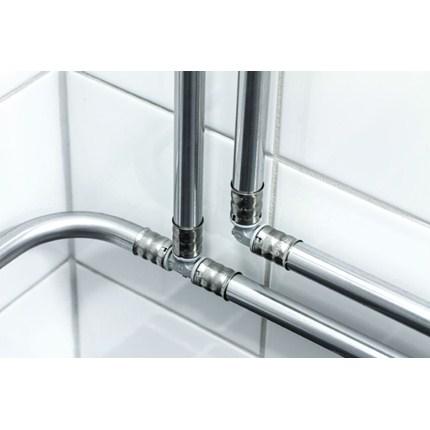 Uponor Metallic Pipe PLUS med PPSU-kopplingar.