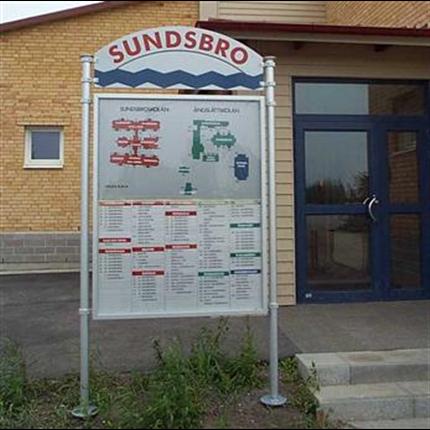 Swedsign Swedflex inomhustavla