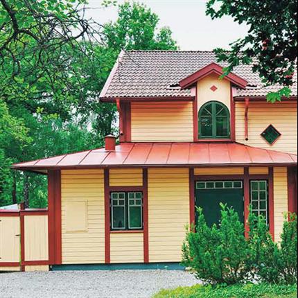 Alcro takfärg utomhus