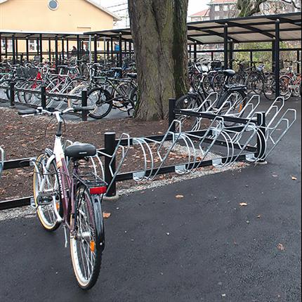 Weland Cykelställ och väderskydd