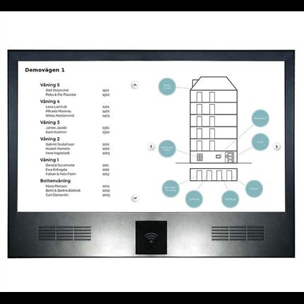 Informationsskärm Wallpad