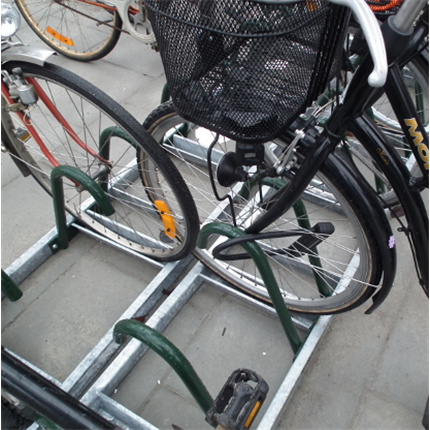 Cyklos Zeta cykelställ