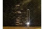 Cykelpollare med LED belysning