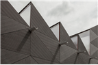 Fasadmaterial som skapar skuggspel
