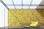 Förvandla väggen till en skrivbar yta
