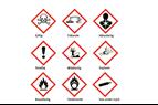 Nya märkningar och klassificeringar för kemiska blandningar