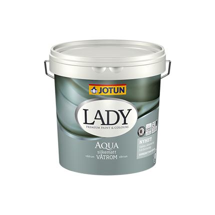 LADY Aqua våtrumsfärg