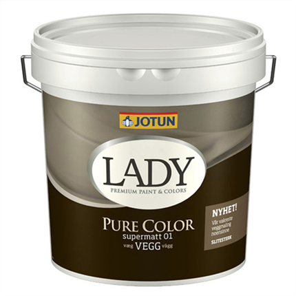 LADY Pure Color väggfärg