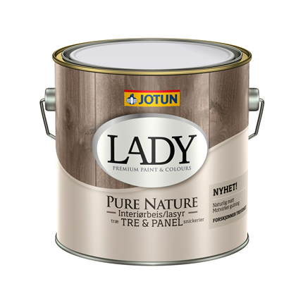 LADY Pure Nature interiörlasur