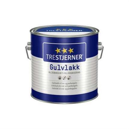 TreStjerner Golvlack, oljebaserad