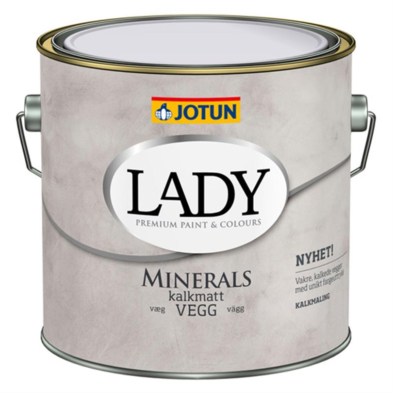LADY Minerals kalkmatt väggfärg