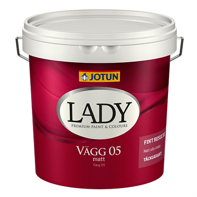 Lady Vägg 05 väggfärg
