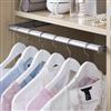 Pelly Components förvaring för garderob, utdragbar klädstång
