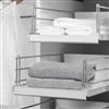 Pelly Components förvaring för garderob, utdragbara hyllor