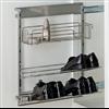 Pelly Components förvaring för garderob, utdragbara skohyllor