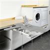 Pelly Components förvaring för tvättstuga/badrum, strykbräda