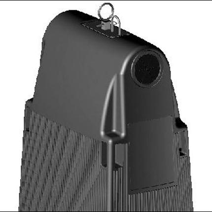Plastic Omnium Movea avfallsbehållare svart