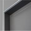 Vitrum Logic Portal dörrportal, Grafitgrå