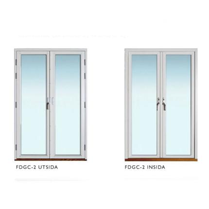 TanumsFönster aluminiumbeklädda fönsterdörrar FDGC-2