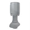 Vilpe Avloppsluftare 110P/300 Flow + hatt, ljusgrå