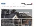Vilpe Flow frånluftshuvar och takfläktar på webbplats