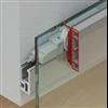 Häfele Slido Design 40-V till 80-V för glasdörrar