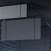 Akustikmiljö Effekt vertikalabsorbenter som bafflar i tak