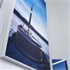 Akustikmiljö PRINT ljudabsorberande tavlor med vit ram