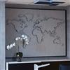Akustikmiljö TELL-US ljudabsorberande världskarta