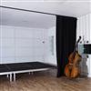 Akustikmiljö TILES EcoSUND på vägg och tak, vit