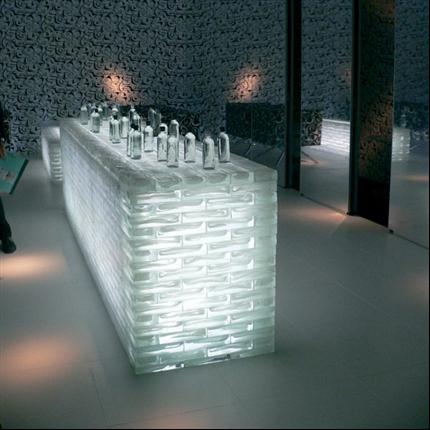 Vetro Glasblock och glastegel