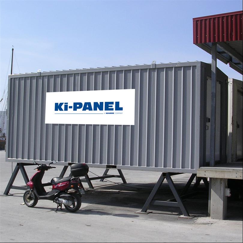 Ki-Panel frys- och kylcontainers