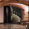 Borghamns trappa och golv av Borghamnskalksten, Nationalmuseum, Stockholm