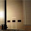 Reco höga takskjutport med integrerad gångdörr