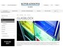 Konradssons glasblock på webbplats