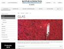 Konradssons glasmosaik på webbplats