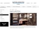 Konradssons natursten på webbplats