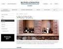 Konradssons väggtegel på webbplats
